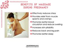 Benefits of Massage during Pregnancy #health #wellness