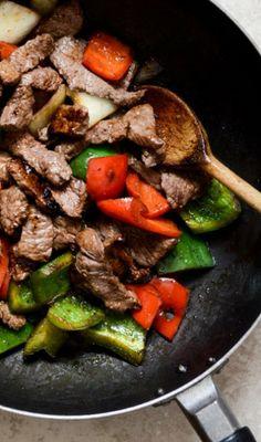 Chili Garlic Beef RHS