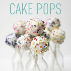 Cake Pops! #yellowbirdyellowbeard