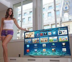 65-inch Samsung Smart TV seduct motion, samsungtv, 10 musthav, smart tvs, samsung tv, smarttv, samsung smart, technolog, tech gadgets