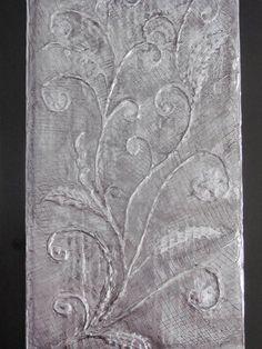 Aluminium Foil and Glue Art http://www.exclusivepackagingny.com/
