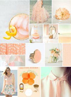 peach tones