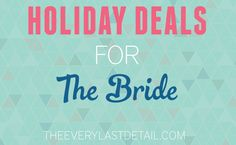 Holiday Deals For Th