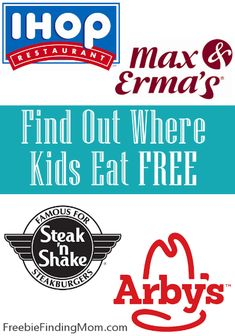 Dining out as a family can be expensive. Why not save money on the kids' meals by eating at places where kids eat free? Find restaurants in your area... kid meals, kids eat free, kid eat