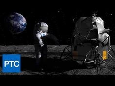 Create this awesome moonwalk scene using Photoshop CS6 Extended and 3D models from NASA!