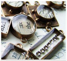 resin jewelery