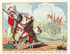 "Donn P. Crane Illustration from Children's Book  ""Don Quixote"", 1953."