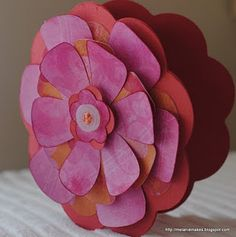 Cricut Flower Spring Card