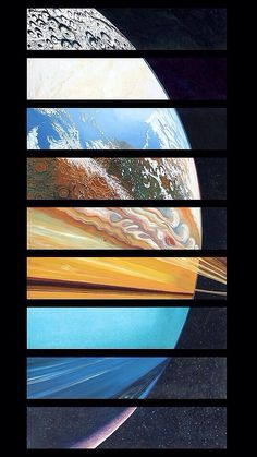 All the planets as one.