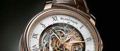 Blancpain Carrousel Repétition Minutes Esta pieza reúne 3 grandes complicaciones: carrusel volante un minuto, cronógrafo flyback y repetición minutos.