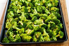 Kalyn's Kitchen®: Recipe for Roasted Broccoli with Garlic