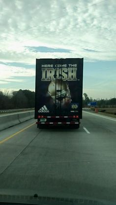 """Like the Irish?  Be sure to check out and """"LIKE"""" my Facebook Page https://www.facebook.com/HereComestheIrish  Please be sure to upload and share any personal pictures of your Notre Dame experience with your fellow Irish fans!"""