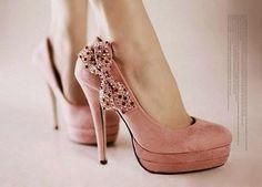 Pink Sweety High Heels