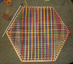 Hexagon loom