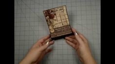 Chipboard Easel Card with Drawer Tutorial