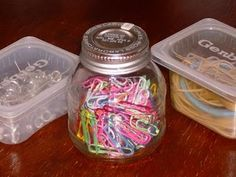 repurposed baby food jars