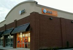 AT&T Channel Letters and Wall Sign in Elyria, Ohio.