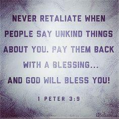 1 Peter 3:9