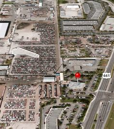 Huge junk yard in Miami