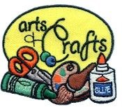 Arts and Crafts Fun Patch from MakingFriends.com! Earn your Brownie Potter Patch and add this patch.