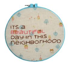 hand embroidery, kid space, embroideri idea, cross stitch, embroidery hoops