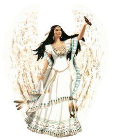 Native American angel
