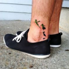Peter Pan Tattoo. @Mary Powers Powers Boydston i think we need this or another matchies...