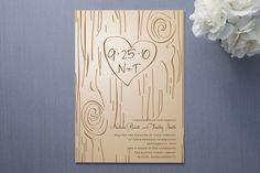 Beautiful Wedding Invitations - Rustic Wedding Chic