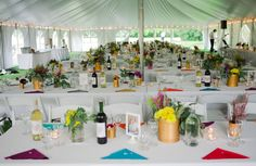 Colorful Wedding Reception Decorations