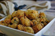 LOVE fried okra!