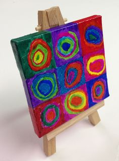 Art Projects for Kids: Mini Masterpiece Painting