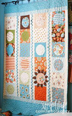 cute quilt #quilt #quilting #longarm #machinequilting #tinlizzie18