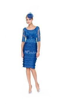 Vestido azul de Sonia Peña - http://www.bodas.net/cat-DressList.php?tipo=3Disenador=206
