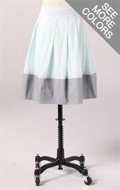 blue skirt, fashion, cute modest skirts, cloth, dream closet, downeast basics, summer skirts, tone skirt, bright colors