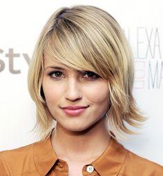 I like her short hair! Dianna Agron
