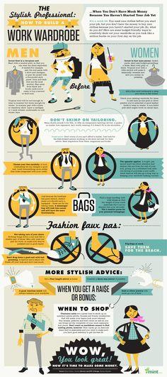 Work Wardrobe Infographic