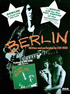 Lou Reed - Berlin Acetate. #LouReed