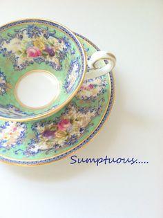Vintage Royal Doulton Tea cup and Saucer Made by MariasFarmhouse, $75.00