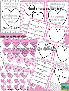 Blog post and a freebie!- Valentine's Day Made Easy: Print, Copy, and Go! Everything you need- literacy, math, and science