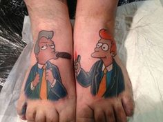 lights, cigar, crazy tattoos, feet tattoos, news