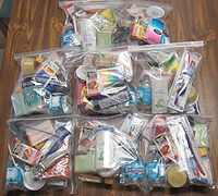 Blessing bags for the homeless -- great way to spread hope and help