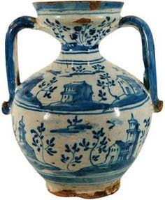 Cer mica de talavera de la reina on pinterest sevilla for Ceramica talavera madrid