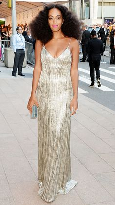 See the Looks from the 2014 CFDA Fashion Awards - Solange Knowles from #InStyle