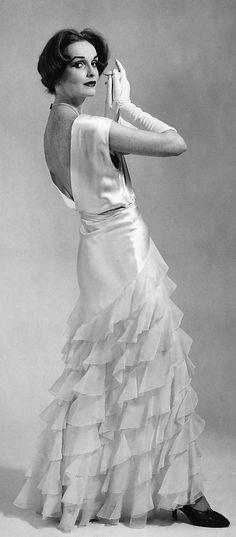 Evening dress  Irene (American)  Date: ca. 1935 Culture: American