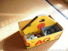Cardboard Toolbox for Kids