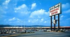Many York countians will remember this is York County Shopping Center sign. Stephen Smith of York, Pa., provided this image, circa 1962. He noted that you can see part of Food Fair, one of the retailers at the center, the York-areas first suburban shopping plaza.