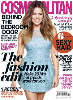 Khloe for Cosmo UK
