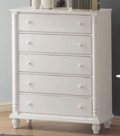 BESTSELLER! Coaster Kayla Chest in Distressed White $343.05