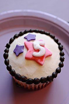 Star cupcake