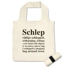 Love this bag cuz I love Yiddish
